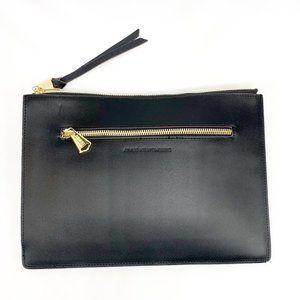 AIMEE KESTENBERG Sicily Clutch Black Leather Pouch